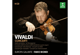 Biondi/Europa Galante - Konzerte  - (CD)