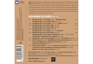 Russian National Orchestra, Royal Scottish National Orchestra, VARIOUS - Sämtliche Sinfonien & Konzerte  - (CD)