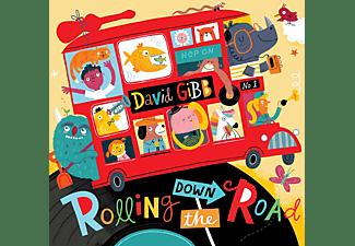 David Gibb - Rolling Down The Road  - (CD)