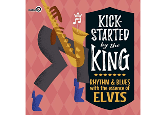 VARIOUS - KICK-STARTED BY THE KING  - (Vinyl)