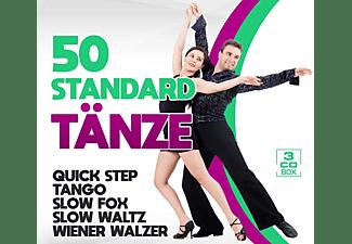 VARIOUS - 50 Standard Tänze  - (CD)
