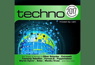 VARIOUS - Techno 2017  - (CD)