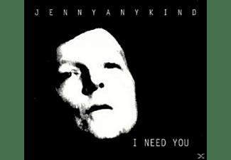 Jennyanykind - I NEED YOU  - (CD)