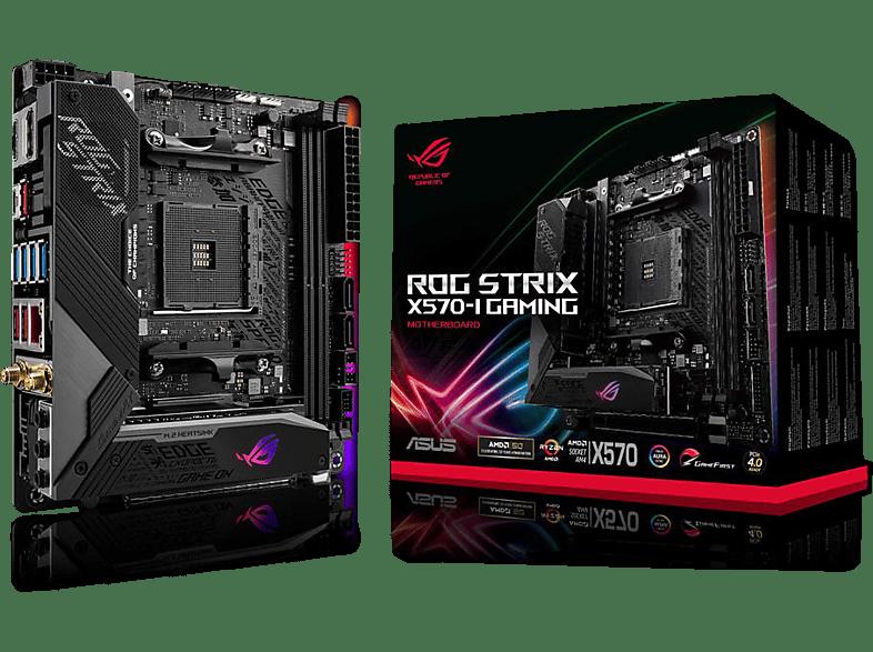 ASUS ROG Strix X570-I Gaming Mainboard Schwarz