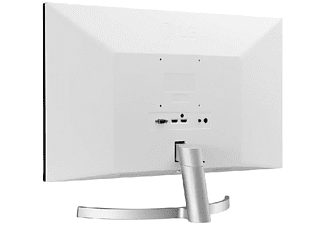 "Monitor - LG 27MK600M-W, 27"" Full HD IPS LED, 5 ms, Radeon FreeSync™, Negro y plata"