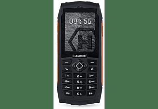 """Móvil - Hammer 3, 2.4"""", SIM Doble, 2G, 32 MB, 2000 mAh, IP68, Naranja"""