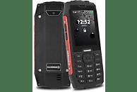 "Móvil - Hammer 4, 2.8"", Doble SIM, 3G, 32 GB, 2000 mAh, IP68, Rojo"