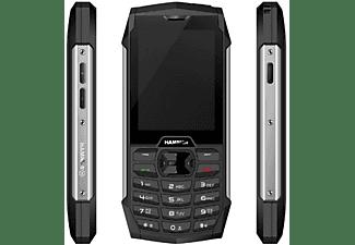 Móvil - Hammer 4+, Doble SIM, 3G, 128 MB, 2000 mAh, IP68, Negro