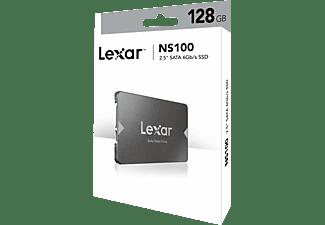 LEXAR LNS100 SATA, 128 GB, SSD, 2,5 Zoll, intern