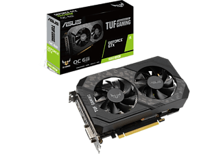 ASUS Grafikkarte TUF Gaming GeForce GTX 1660 SUPER OC 6GB (90YV0DT2-M0NA00)