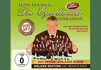 Ernst Hutter & Die Egerländer Musikanten - Das Große Jubiläumsalbum-Del  - (CD + DVD Video)