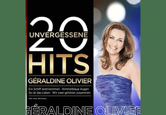 Géraldine Olivier - 20 unvergessene Hits  - (CD)