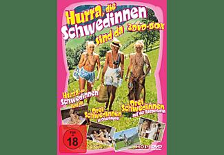 Hurra, die Schwedinnen sind da DVD - Box DVD
