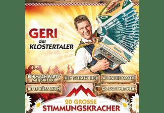 Geri Der Klostertaler - 20 große Stimmungskracher  - (CD)