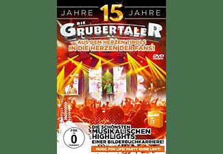 Die Grubertaler - 15 Jahre-Die schönsten musik  - (DVD)