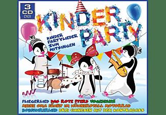 VARIOUS - Kinderparty - Kinderpartylieder Zum Mitsingen  - (CD)