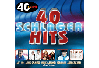 VARIOUS - 40 Schlager Hits  - (CD)