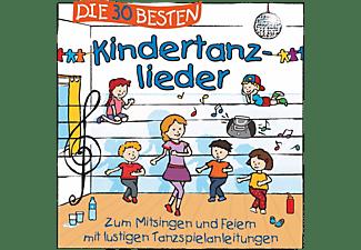 Simone Sommerland, Karsten Glück & Die Kita-frösche - DIE 30 BESTEN KINDERTANZLIEDER  - (CD)