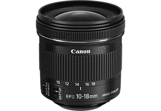 CANON Groothoeklens EF-S 10-18mm F4.5-5.6 IS STM (9519B005AA)