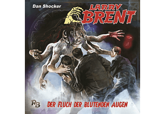 Larry Brent - Der Fluch der blutenden Augen  - (CD)