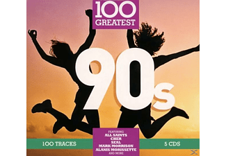 VARIOUS - 100 Greatest: 90s  - (CD)