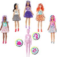 BARBIE Barbie Color Reveal Puppen Sortiment Tiere Welle 1 Puppe, Mehrfarbig