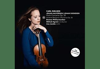Jacobs, Lisa / Bremer Philharmoniker / Agrest, Mik - Violinkonzert op.33 & Andante Religioso & Roman  - (CD)