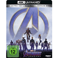 Avengers: Endgame (Limited Steel Edition) [4K Ultra HD Blu-ray + Blu-ray]