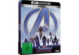 Avengers: Endgame (Limited Steel Edition) 4K Ultra HD Blu-ray + Blu-ray
