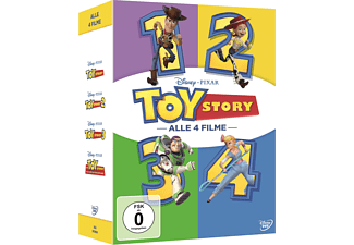 Toy Story 1-4 (4 Movie Coll.) DVD