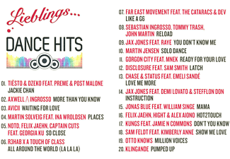 VARIOUS - LIEBLINGS...DANCE HITS  - (CD)