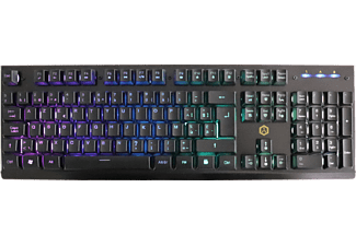 ISY Clavier gamer RGB LED AZERTY (IGK-3000-BE)