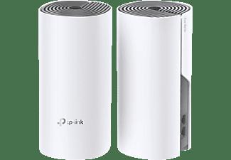 TP-LINK Deco E4 Mesh Netzwerksystem (AC1200) 2er Pack WLAN Router 1,2 Gbit/s