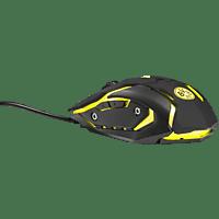SNAKEBYTE Borussia Dortmund BVB PC-Gaming-Maus, Schwarz