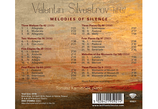 Tomasz Kamieniak - Silvestrov:Melodies Of Silence  - (CD)