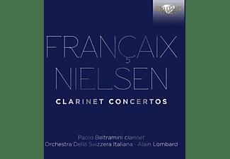 Paolo Beltramini, Orchestra Della Svizzera Italiana - Francaix/Nielsen:Clarinet Concertos  - (CD)