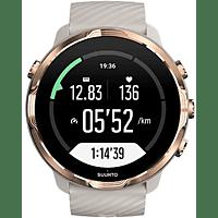Reloj deportivo - Suunto 7, Rose Gold, 48h, Más de 70 modos deporte, Mapas offline, Sumergible, Google