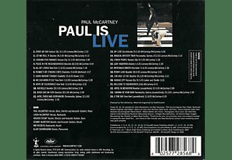 Paul McCartney - Paul is Live  - (CD)