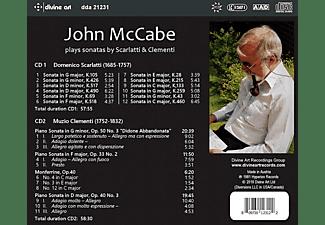 John McCabe - Sonaten für Cembalo  - (CD)