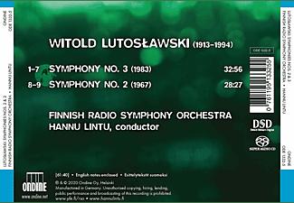 Hannu Lintu, Finnish Radio Symphony Orchestra - Symphonies Nos. 2 And 3  - (SACD)