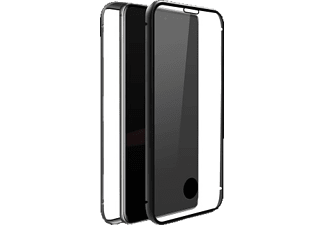 BLACK ROCK 360° Glass Case, Full Cover, Samsung, Galaxy A51, Schwarz/Transparent