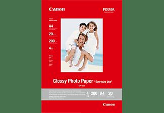 CANON G-501 Fotopapier glänzend A 4 nein mm A4 Canon GP-501 Fotoglanzpapier A4 20 Blatt