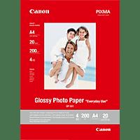 CANON G-501 Fotopapier glänzend A 4  A4 Canon GP-501 Fotoglanzpapier A4 20 Blatt