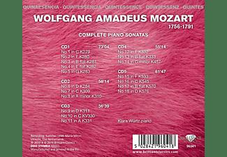 Klara Würtz - Mozart:Complete Piano Sonatas (Quintessence)  - (CD)