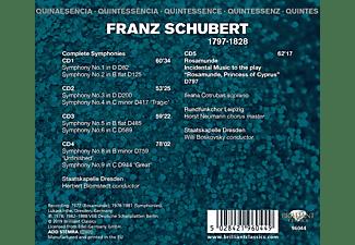 Ileana Cotrubas, Staatskapelle Dresden, Rundfunkchor Leipzig - Schubert:Complete Symphonies,Rosamunde  - (CD)