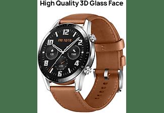 "Smartwatch - Huawei Watch GT2 Classic, 46 mm, Táctil 1.39"" AMOLED, Autonom. 2 semanas, GPS, Bluetooth, Marrón"