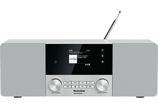TECHNISAT DIGITRADIO 4 C DAB+ Radio, DAB+, Bluetooth, Weiß