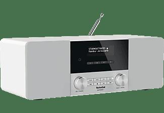 TECHNISAT DIGITRADIO 4 DAB+ Radio, DAB+, Bluetooth, Weiß