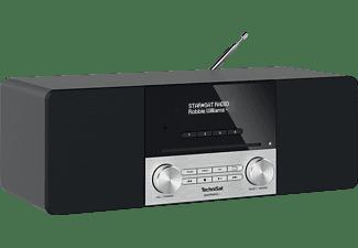 TECHNISAT DIGITRADIO 3 DAB+ Radio, DAB+, Bluetooth, Schwarz/Silber
