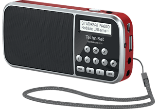TECHNISAT TECHNIRADIO RDR DAB+ Radio, DAB+, Rot